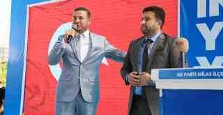 Emin Çelik, AKP Milas'ın yeni ilçe başkanı