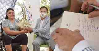 Başkan Tokat Özlem Yıldız'ınmesajına kayıtsız kalmadı
