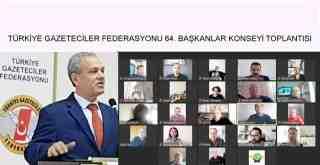 Türkiye Gazeteciler Federasyonu (TGF) 64. Başkanlar Konseyi Sonuç Bildirgesi: