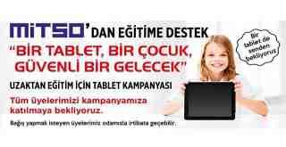 MİTSO'dan tablet bağışı kampanyası..