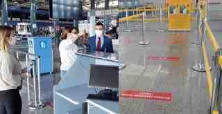 Kaymakam Arslan, Milas-Bodrum Havalimanı'nda incelemelerde bulundu